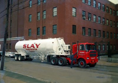 Slay-Transportation-tanker-fleet-trucking-st-louis-texas-old-tanker-color-photo
